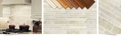 Ivory Colored Kitchen Cabinets Travertine Subway Backsplash Tile Light Ivory Travertine Beige