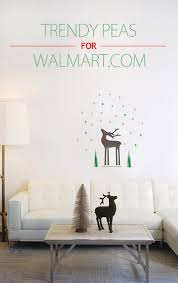 Wall Decor Stickers Walmart by Trendy Peas Creates An Exclusive Holiday Home Decor Collection For