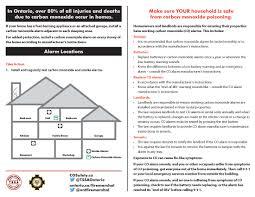 carbon monoxide and smoke alarms otonabee south monaghan