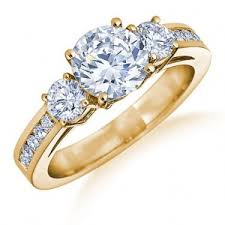 gold diamond engagement rings gold diamond engagement rings top 5 for diamonds