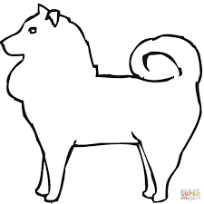 pomeranian coloring page free printable coloring pages
