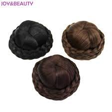 donut hair bun beauty hair braided clip in hair bun chignon hairpiece donut