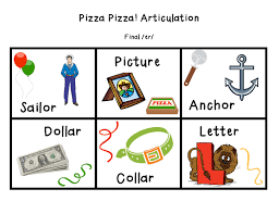 pizza pizza articulation r packet page 3 slp articulation