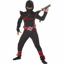 Halloween Costumes Tall Men Stealth Ninja Child Halloween Costume Walmart