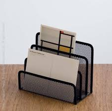 Wire Mesh Desk Accessories Mesh Letter Holder Black The O Jays Desk Accessories And Wire