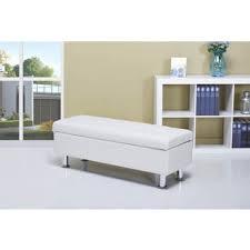mackenzie white 52 inch storage ottoman free shipping today