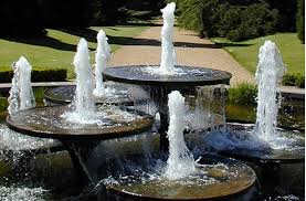 Outdoor Water Fountains With Lights Outdoor Water Fountains Modern Appliance In Home