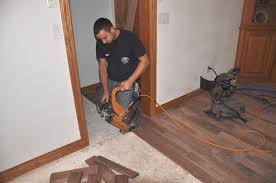 install hardwood floor concrete home decorating interior