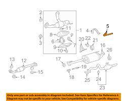lexus gx470 uk lexus toyota oem 06 09 gx470 exhaust cross over pipe support