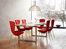 Esszimmerst Le Design Leder Esszimmerstühle Rot Möbelideen