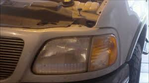 ford f150 headlight bulb how to remove a headlight bulb on a ford f150 expedition