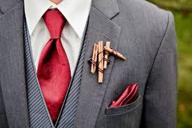 groomsmen boutonnieres 21 creative non floral boutonnieres for grooms and groomsmen