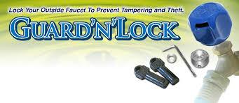 Outside Faucet Lock Guard U0027n U0027lock