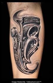 tattoo 3d mechanical 3d mechanical rolleicord tattoo on arm tattooshunt com