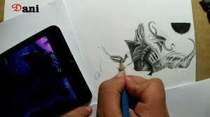 pencil drawing dark star thresh final youtube