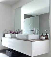 bathroom mirror fixings how to hang a frameless mirror installing a bathroom mirror best