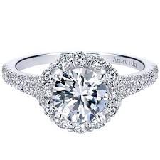 round halo rings images Gabriel amavida quot jaeley quot round halo diamond engagement ring jpg