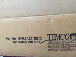 temco 700 series vented gas fireplace 7 piece log set flynn u0027s