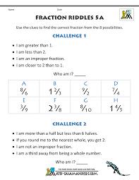 halloween brain teasers printable free printable fraction worksheets fraction riddles harder