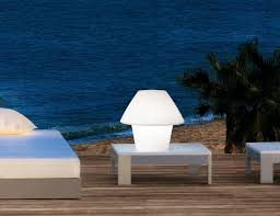 popular wireless outdoor led table lamp modern outdoor table lamps