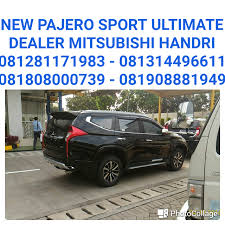 mitsubishi expander ultimate new pajero sport ultimate dealer mitsubishi 081281171983