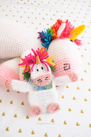 How To Be A Unicorn For Halloween by Crochet Unicorn Gift Card Holder One Dog Woof