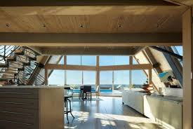 Beach House Designs by Beautiful Beach House Design Blending Glass Walls With Striking A