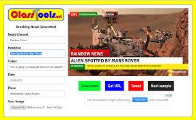 Newspaper Meme Generator - breaking news generator 123ict 123ict