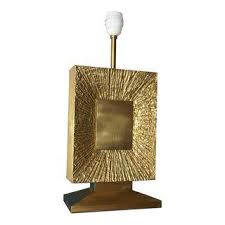 vintage u0026 used gold table lamps chairish