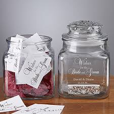 wedding wish jar wedding wishes in a personalized jar 50th anniversary