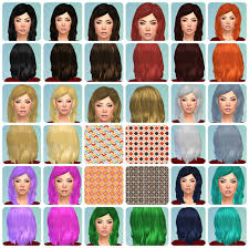 geek hairstyles hairstyle willow geek by request another texture pack these are default