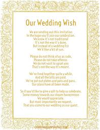 Wedding Gift Money Poem How To Give Money As A Wedding Gift Wedding Money 5 X Wedding
