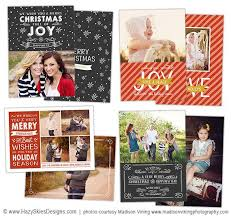 photoshop christmas card templates for photographers best