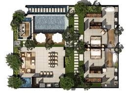 villa floor plan 2 bed pool villa floor plan chandra bali villas
