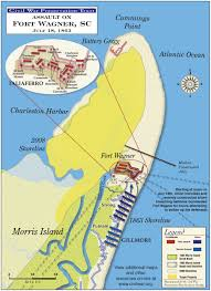 Map Of Usa In 1861 by 1861 1865 Civil War Battle Maps Of Charleston Sc Fort Sumter