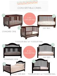 Convertible Crib Bed If You Re Looking At A 3 In 1 Or 4 In 1 Crib For Your Nursery