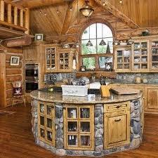 log home kitchen design log cabin kitchen cabinets high quality home design