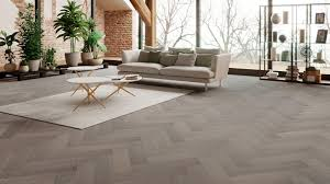 Herringbone Laminate Flooring Uk Oak Truffle Grey Herringbone Engineered Parquet