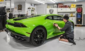 lamborghini huracan custom lamborghini huracan xpel stealth car wrap in seattle