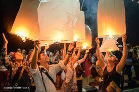 Festival Of Lights Thailand Yee Peng Festival Yi Peng Chiang Mai Lantern Festival Before