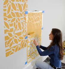 painting stencils for wall art fresh design stencil wall art with tree stencils designs for less