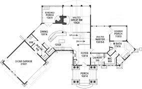 First Floor House Plan Tahloola River Lodge Rustic Floor Plan Cottage Floor Plan