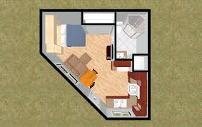 Small House Floor Plans Cozyhomeplans Com 330 Sq Ft Small House Floor Plan