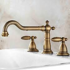Brass Shower Faucets 2017 Antique Brass Shower Faucet Europe Shower Taps With 2 Handles