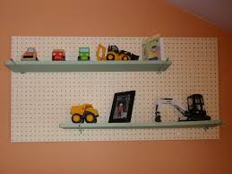 themed shelves construction themed toddler boy s room displaying trucks on
