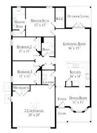 modern 1 story house plans plans flat house plans
