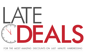 late deals at christian wiles hairdressing salon northton