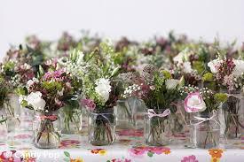 wedding flowers jam jars vintage wedding table decorations search wedding design