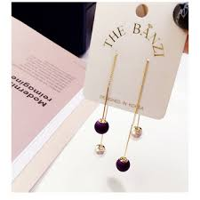 korean earings korean style pearl earrings 2017 new trendy top selling fashion