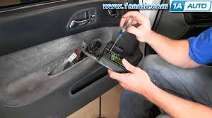 how to install replace master power window switch honda accord 94